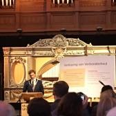 Wethouder Maarten van Ooijen ceremonie